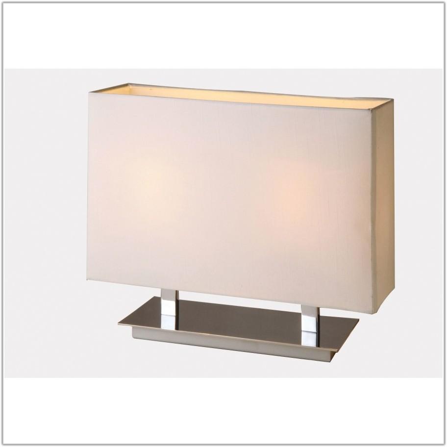 White Linen Table Lamp Shade