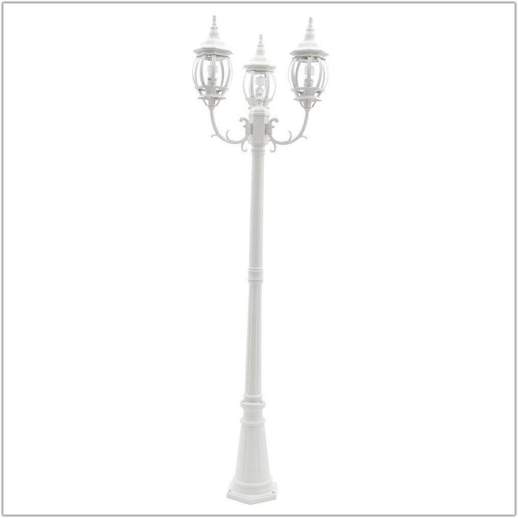 White Outdoor Lamp Post Lighting
