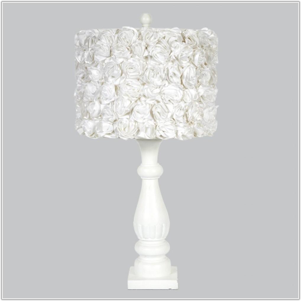 White Shabby Chic Lamp Base