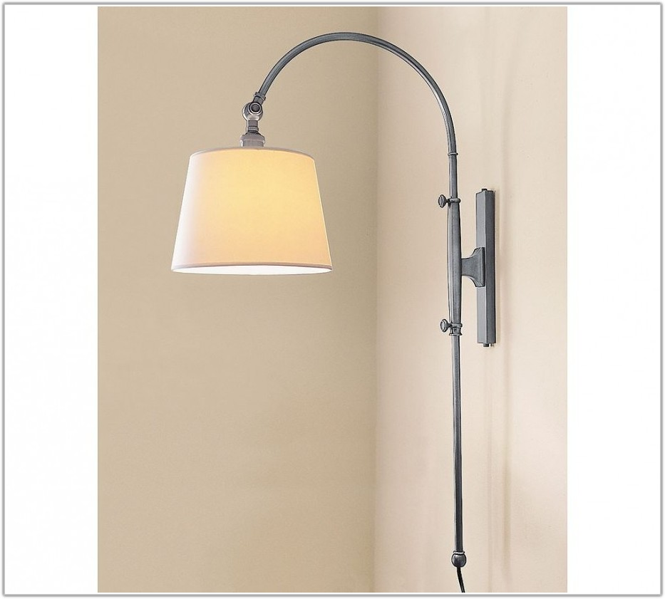 White Wall Lamps Swing Arm