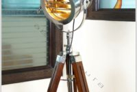 Wooden Tripod Floor Lamp Ebay