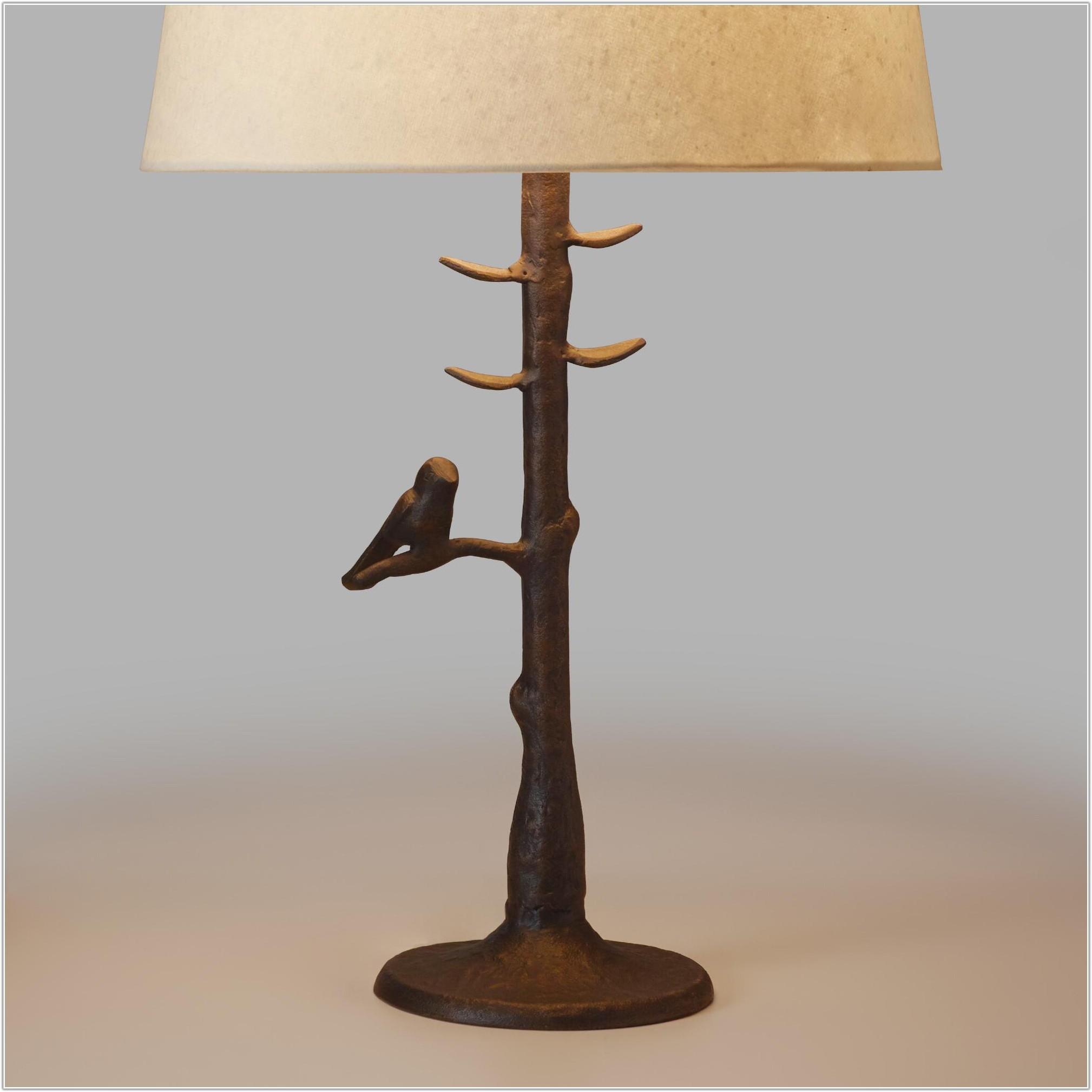 World Market Woodlands Table Lamp