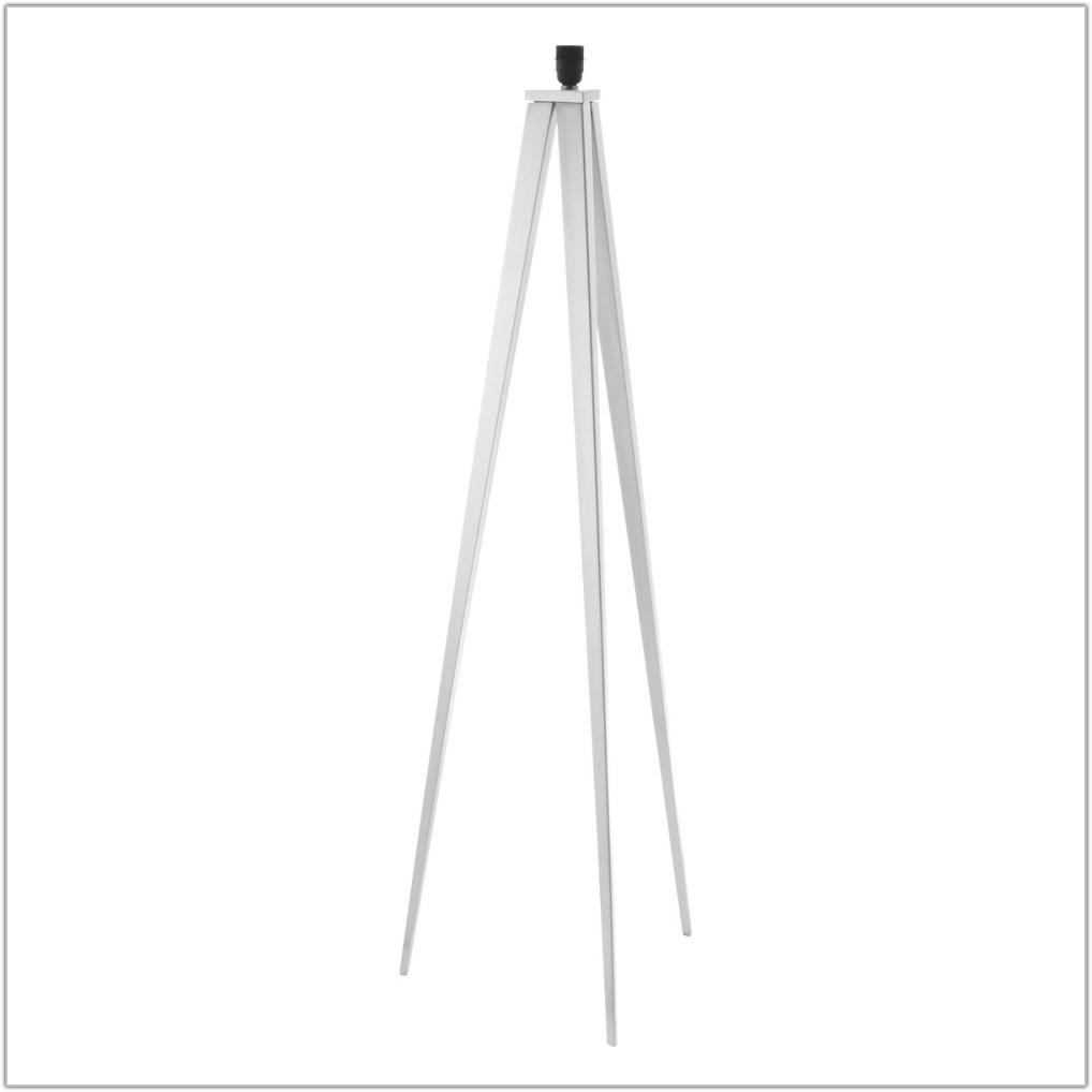 Yves White Tripod Floor Lamp Base
