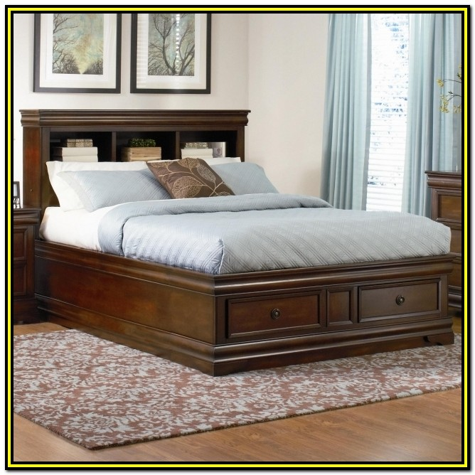 Bed Frame With Drawers California King