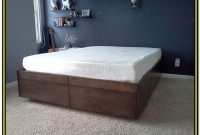 Bed Frame With Drawers Diy