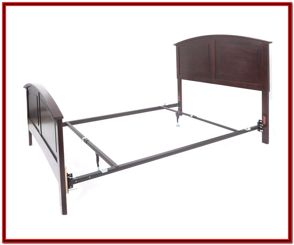 Bed Frame With Headboard And Footboard Brackets