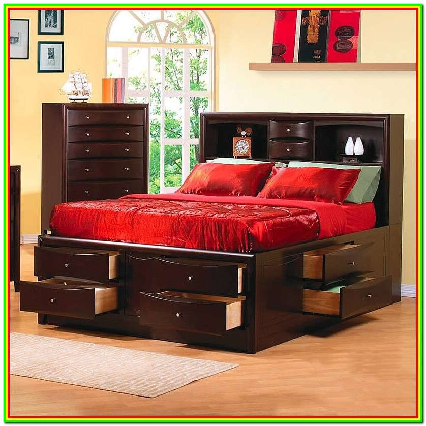 Bed Frames With Storage Drawers Underneath