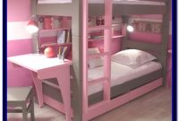 Bunk Bed With Desk And Drawers