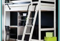 Bunk Bed With Desk Below Ikea