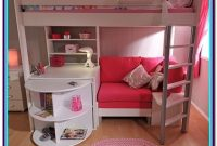 Bunk Bed With Desk White