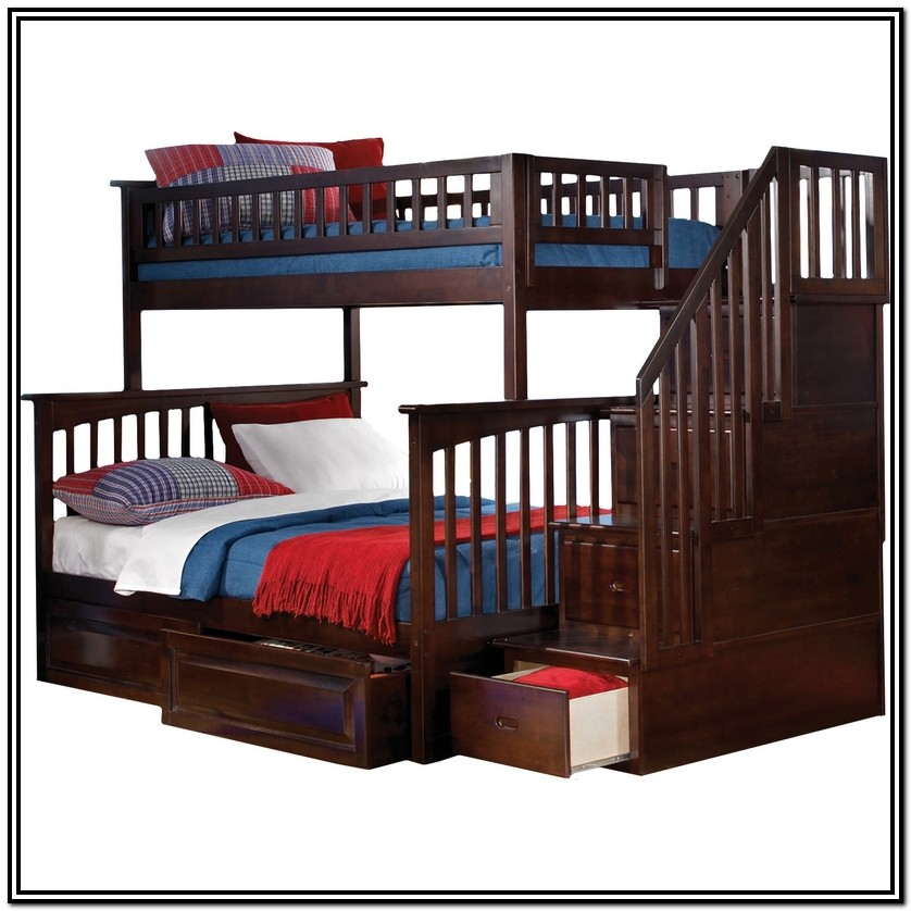 Bunk Bed With Staircase Canada