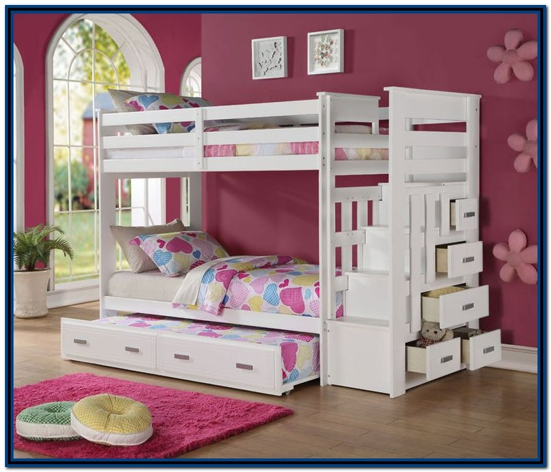 Bunk Bed With Stairs And Drawers Plans
