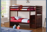 Bunk Bed With Stairs And Storage Plans
