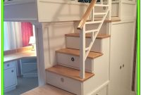 Bunk Bed With Stairs Diy
