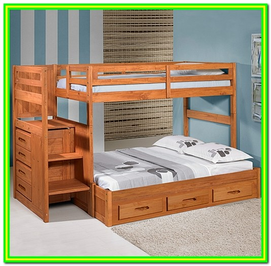 Bunk Bed With Stairs Diy Plans