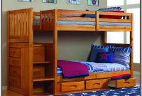 Bunk Bed With Steps Twin Over Full