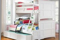 Bunk Bed With Steps White