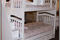Bunk Bed With Storage Drawers And Stairs