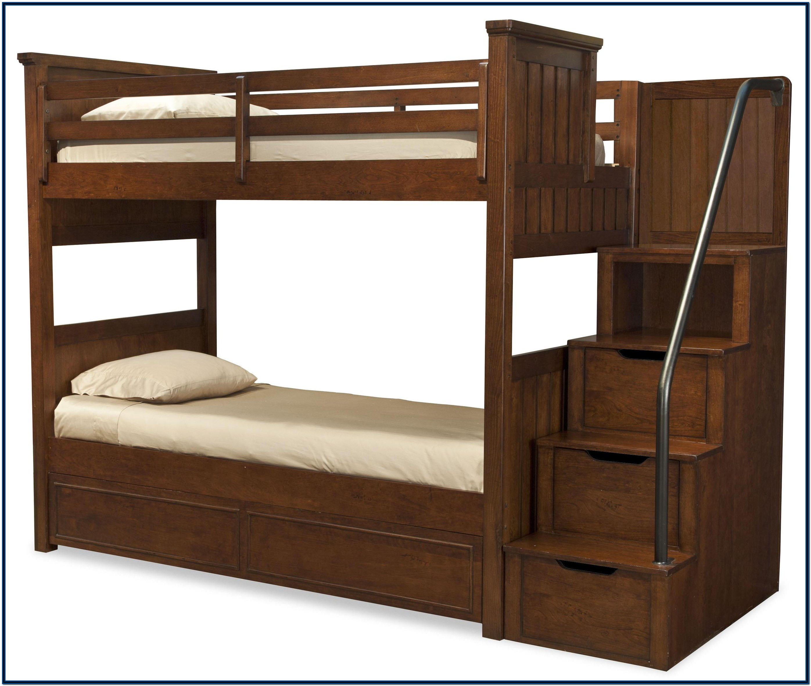 Bunk Bed With Storage Stairs Plans