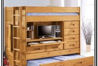 Bunk Bed With Trundle Desk And Storage
