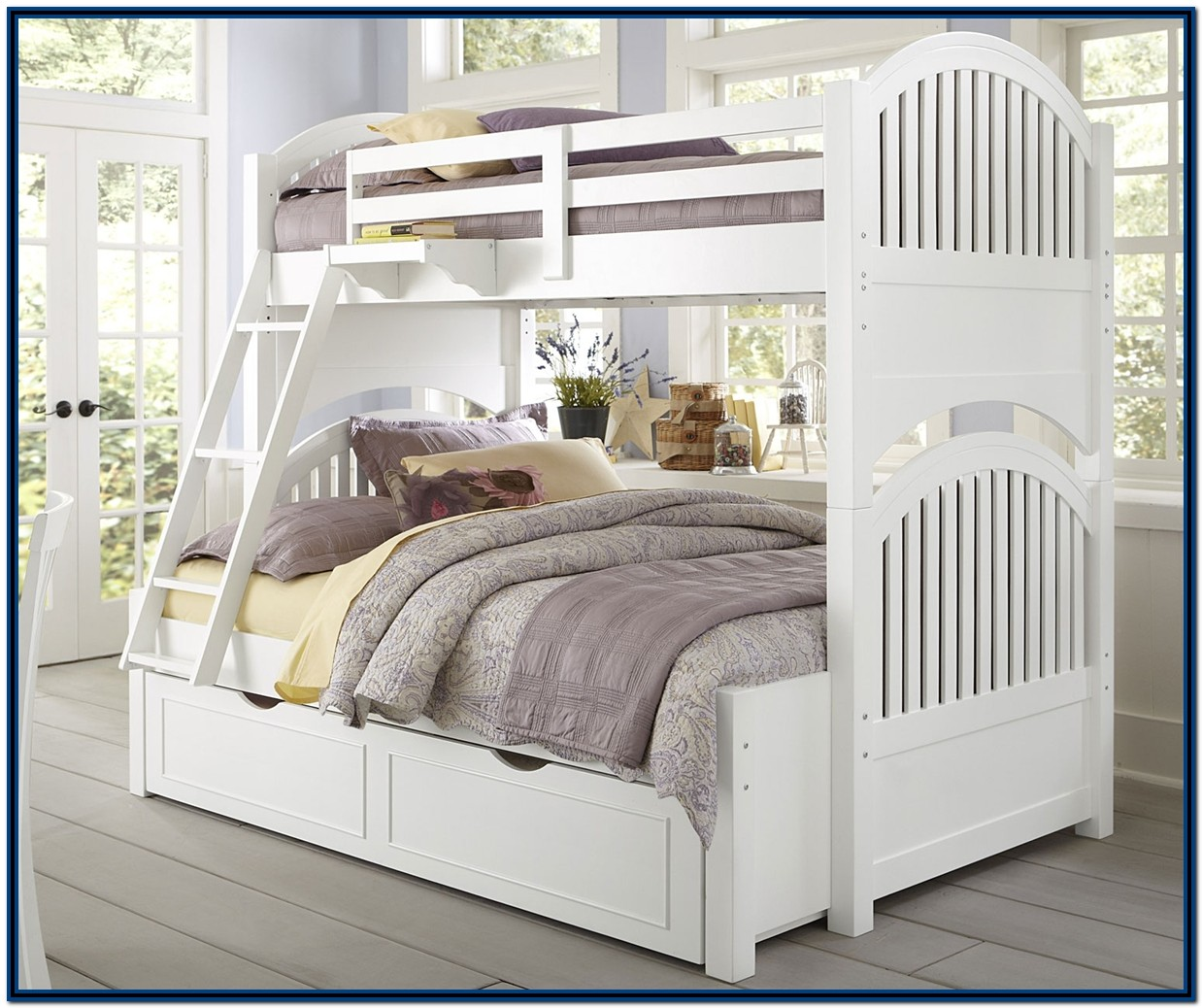 Bunk Beds Twin Over Full White