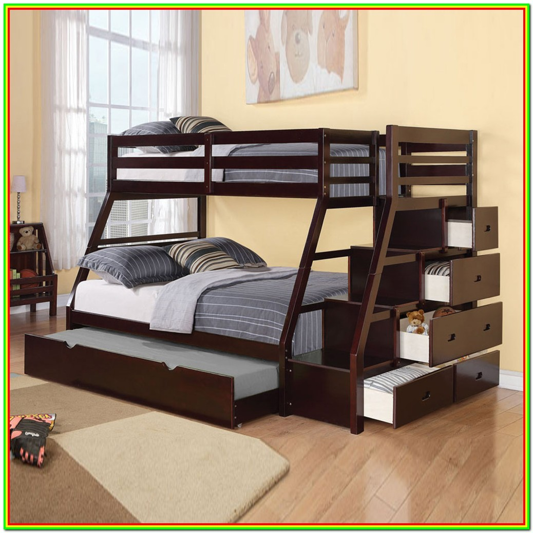Bunk Beds Twin Over Full With Trundle And Drawers