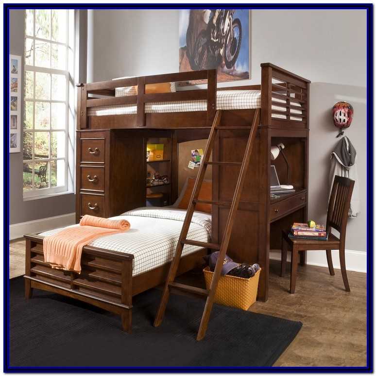 Bunk Beds With Built In Desk And Dresser