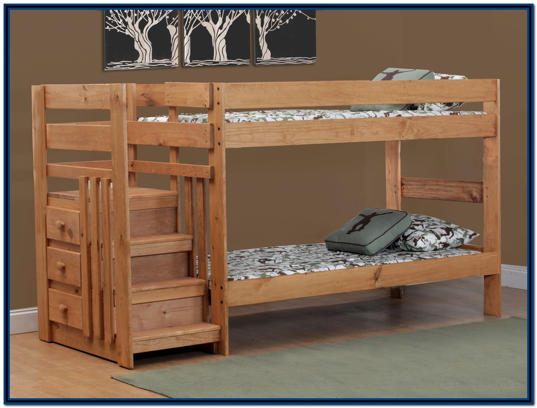 Bunk Beds With Carpeted Stairs Uk