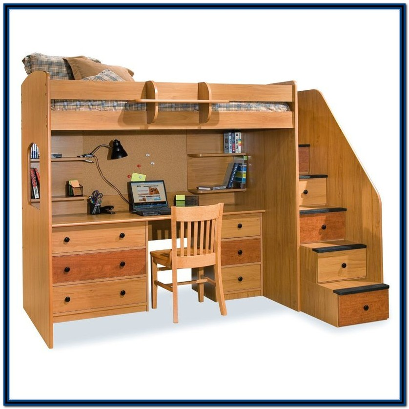 Bunk Beds With Stairs And Storage Uk