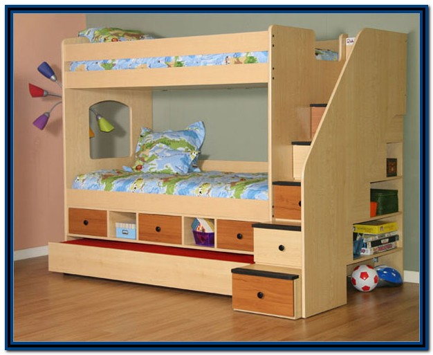 Bunk Beds With Stairs Ikea