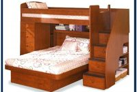 Bunk Beds With Stairs Plans Free