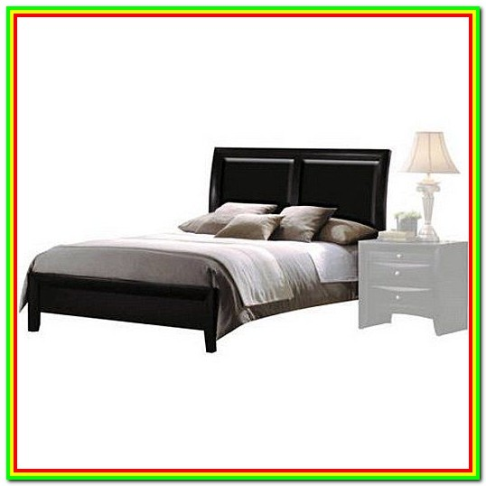 California King Bed Frame With Headboard And Footboard