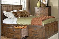 California King Bed Frame With Storage Drawers