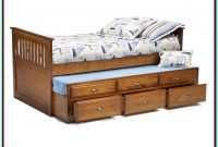 Captain Bed With Trundle And Drawers