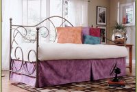 Caroline Daybed With Trundle White