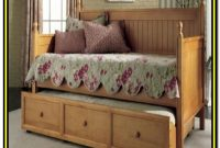 Casey Daybed With Trundle White