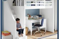 Childrens Bunk Beds With Stairs And Desk