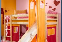 Childrens Bunk Beds With Stairs And Slide