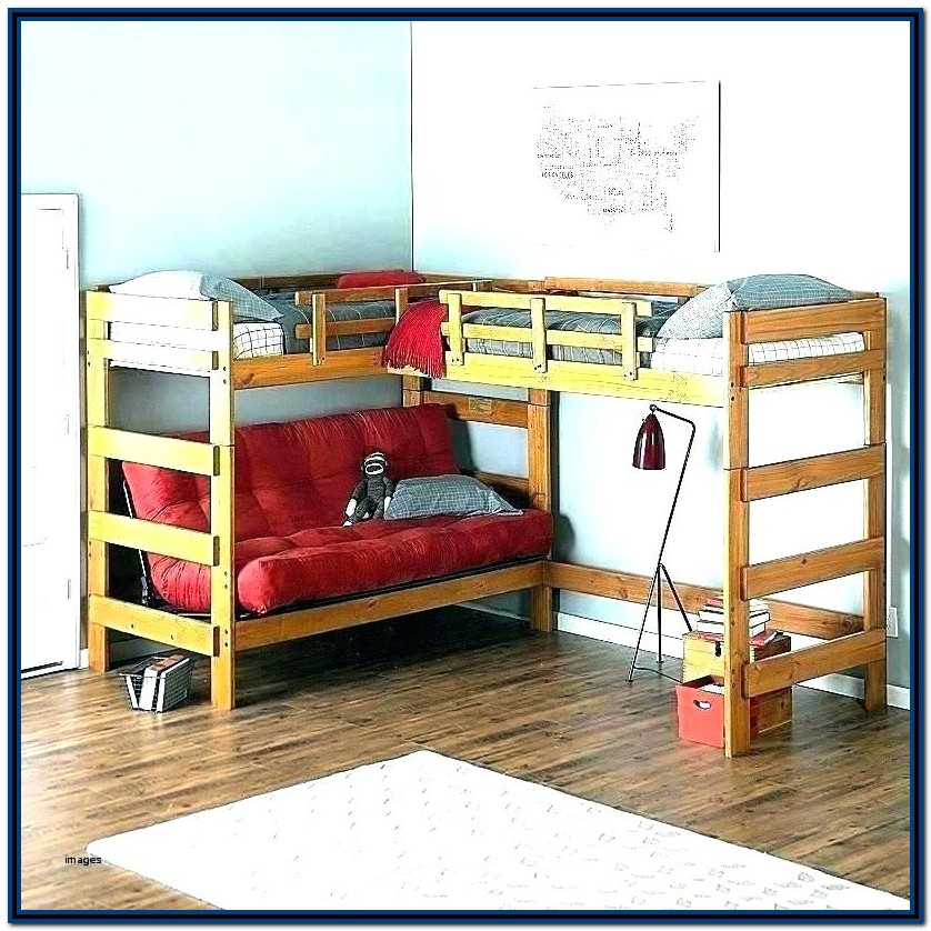 Cool Bunk Beds With Stairs And Slide