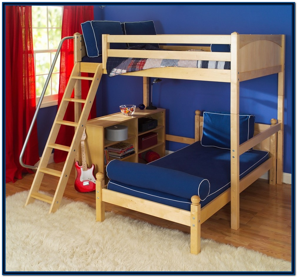 Diy Bunk Beds With Stairs And Slide