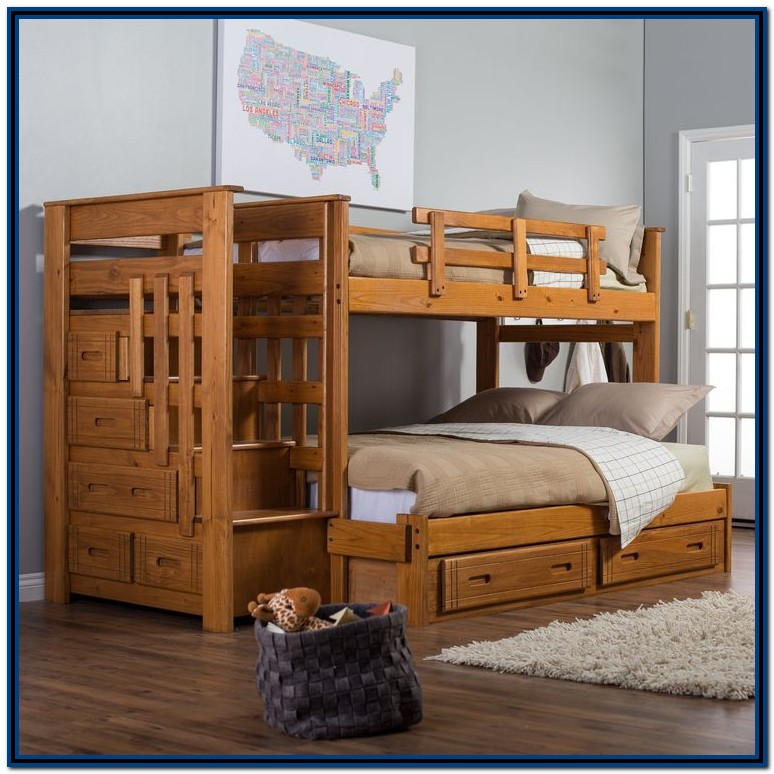 Diy Bunk Beds With Stairs Plans