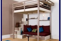 Diy Full Size Loft Bed With Stairs Plans