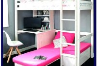 Double Bunk Bed With Desk And Sofa