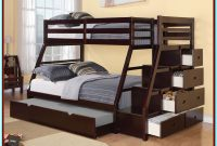 Double Bunk Bed With Storage Underneath