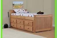 Free Twin Bed Plans With Drawers