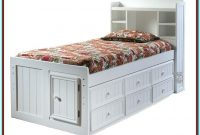 Full Bed With Trundle And Storage Drawers