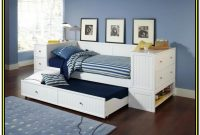 Full Daybed With Trundle White