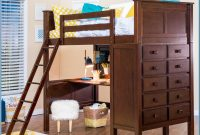 Full Loft Bed With Desk And Dresser