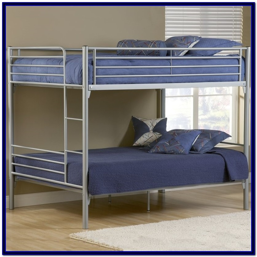 Full Over Full Bunk Beds Metal