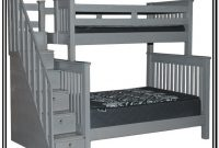 Full Over Full Bunk Beds With Stairs Canada